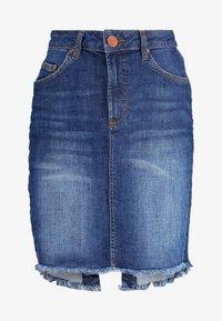 One Teaspoon - PENCIL SKIRT - Denim skirt - cool blue - 4