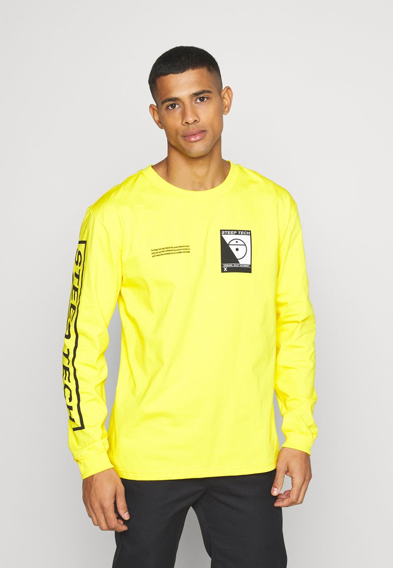 The North Face - STEEP TECH TEE UNISEX - Long sleeved top - lightning yellow