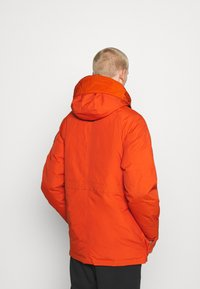 G-Star - EXPEDIC+ HOODED DOWN - Untuvatakki - hide nylon wr - royal orange - 2