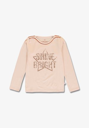 SMALL  - Long sleeved top - peachy keen