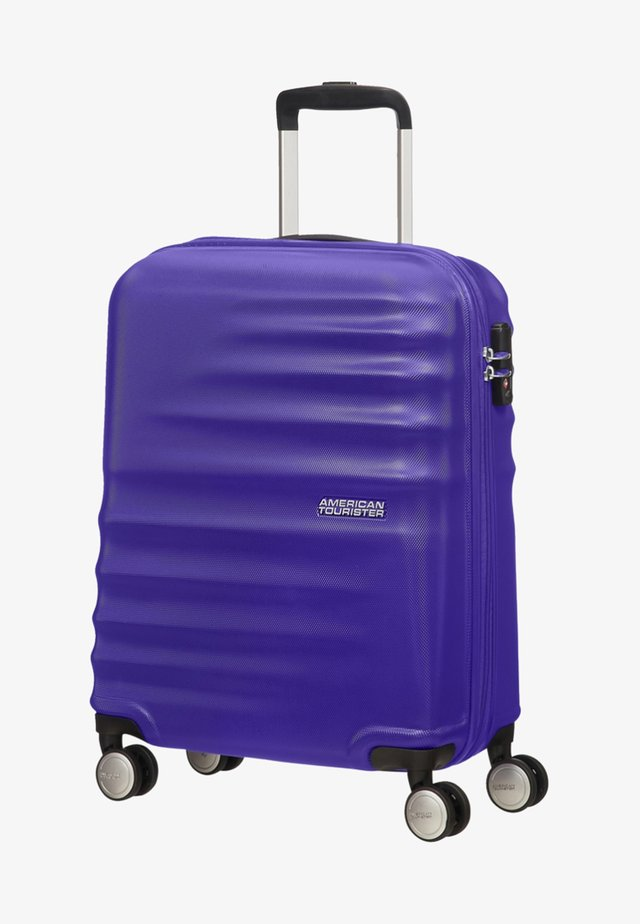 WAVEBREAKER - Wheeled suitcase - nautical blue