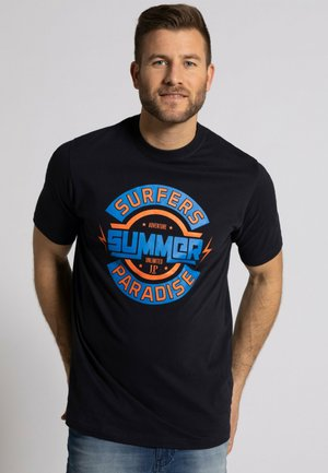2ER-PACK - Print T-shirt - navy