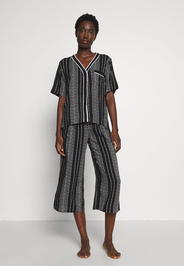 CAPRI SET - Pyjama - black