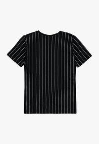 Fila - KIDS ZOE STRIPE TEE - T-shirt imprimé - black - 1