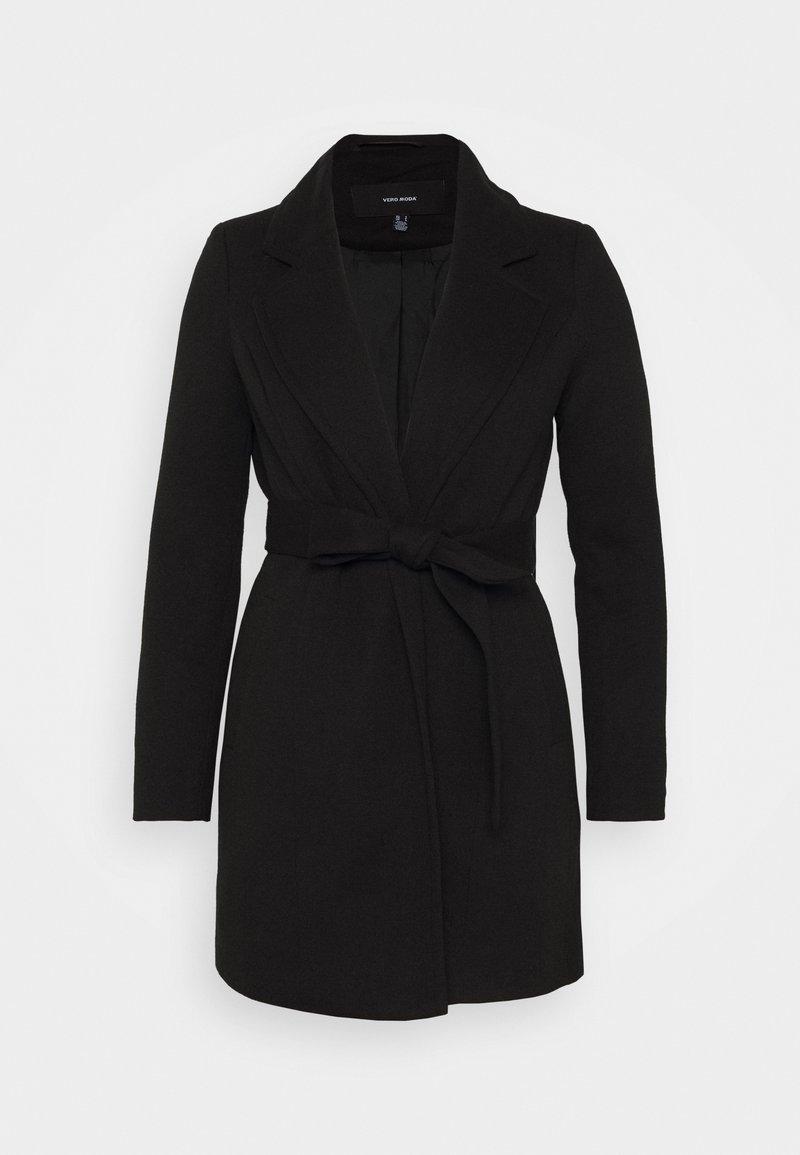 Vero Moda Petite - VMVERODONA - Kåpe / frakk - black
