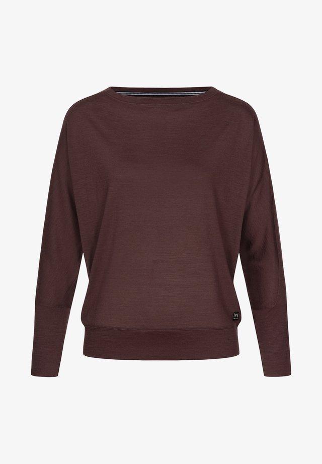 KULA - Sports shirt - dunkelbraun