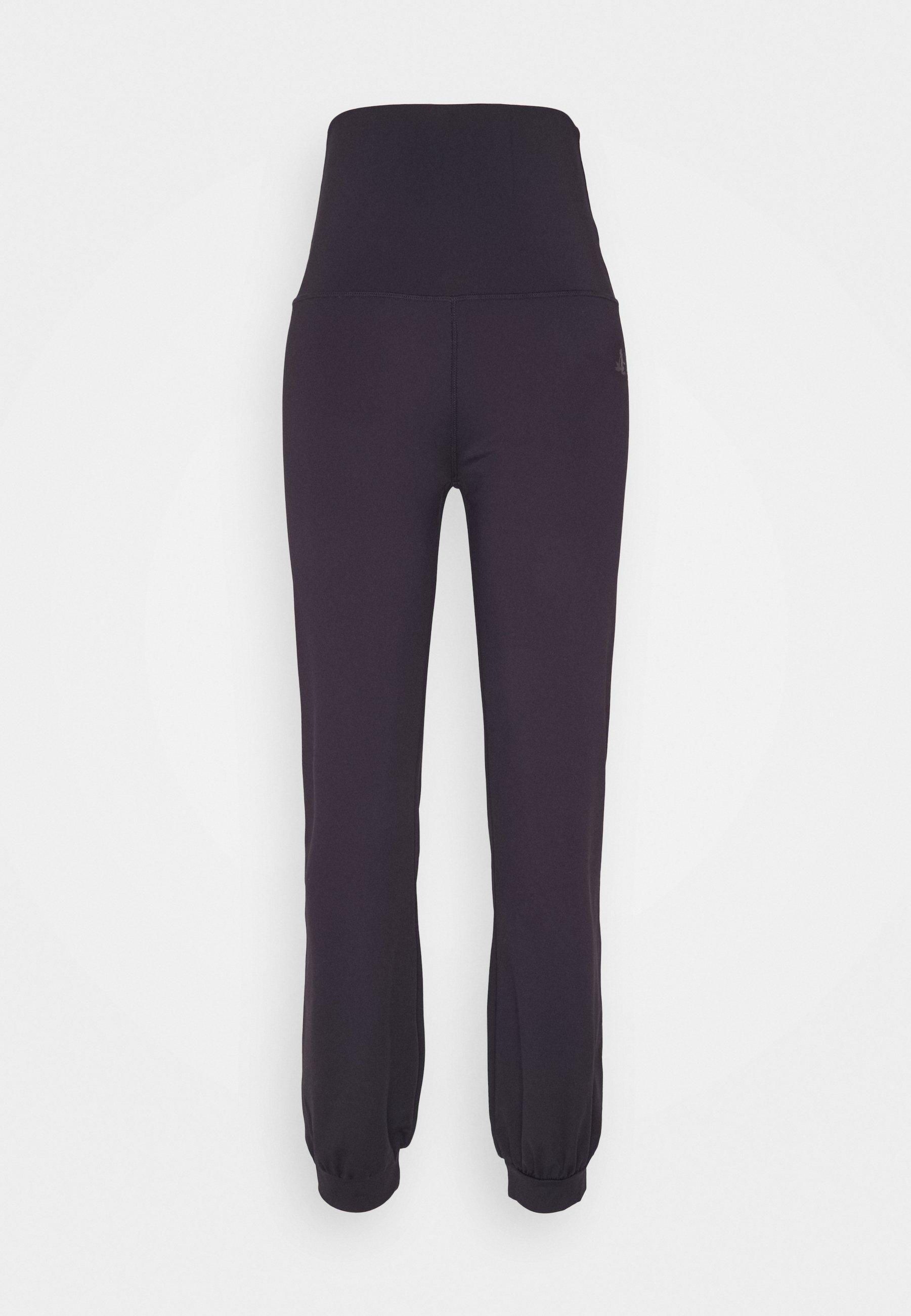 Women LONG PANTS ROLL DOWN - Tracksuit bottoms