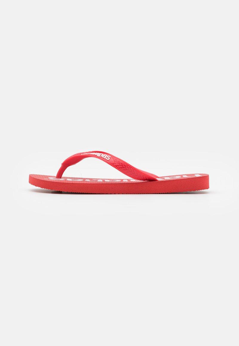 Havaianas - TOP LOGOMANIA  - Pool shoes - ruby red
