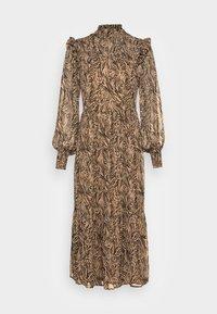 YASNINNO LONG DRESS - Denní šaty - brown