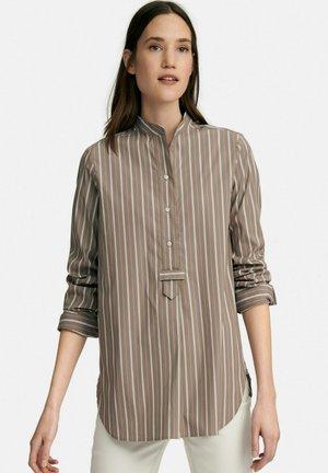 LANGARM - Overhemd - taupe/multicolor