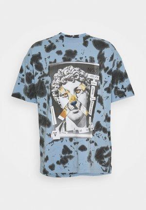 TINTO - T-shirt imprimé - blue