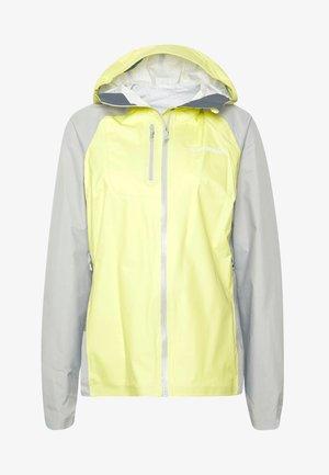 BITIHORN JACKET - Hardshell jacket - sunny lime