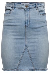 ONLY Carmakoma - Pencil skirt - light blue denim - 0