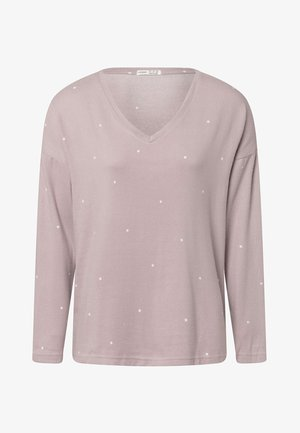 POLKA DOT  - Pyjama top - mauve