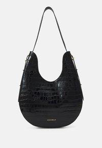 Coccinelle - BAGATELLE CROCO SHINY SOFT - Handbag - noir - 2