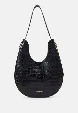 BAGATELLE CROCO SHINY SOFT - Handbag - noir