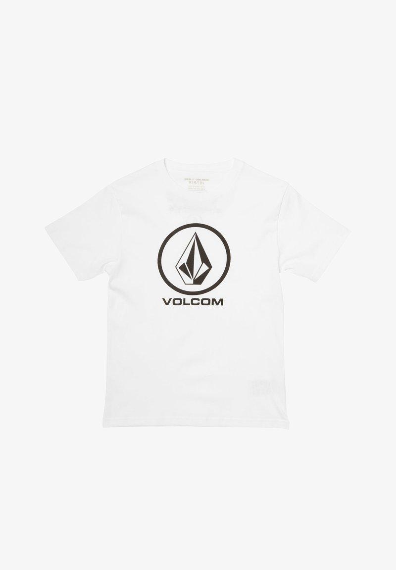 Volcom - CRISP STONE - Camiseta estampada - white