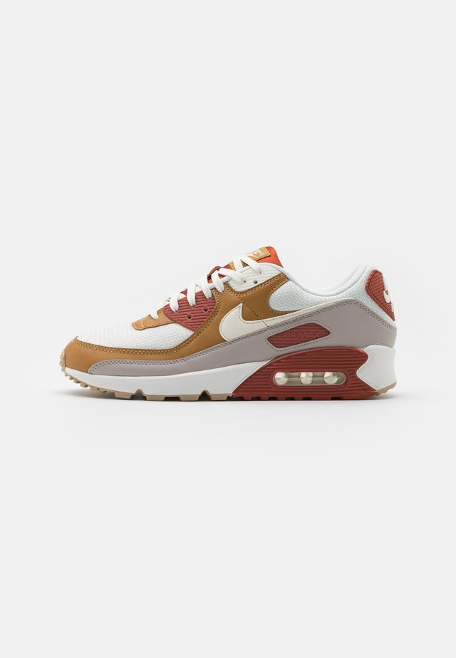 AIR MAX 90 - Sneakers laag - rugged orange/sail/wheat/light brown