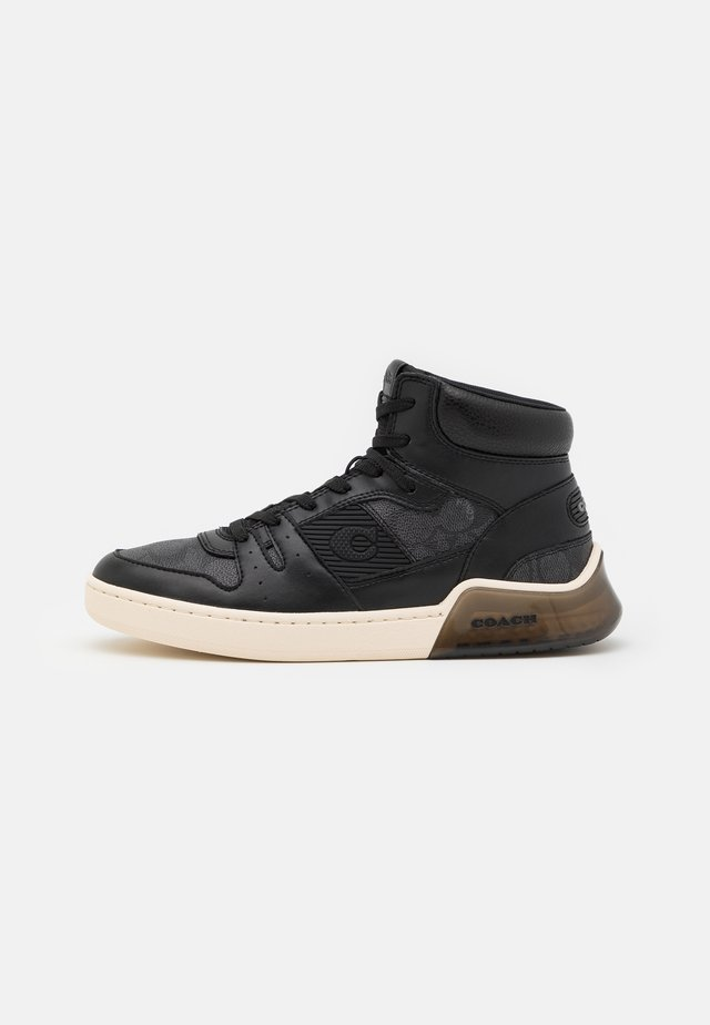 CITYSOLE SIGNATURE  - High-top trainers - charcoal black