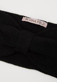 Anna Field - WOOL - Ear warmers - black - 2