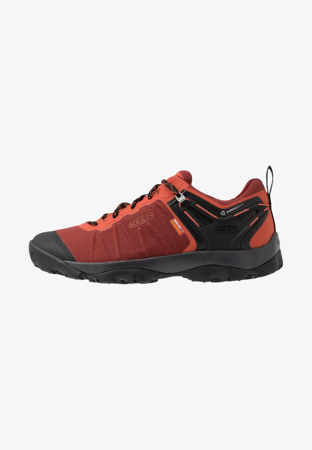 VENTURE WP - Hiking shoes - fired brick/burnt ochre