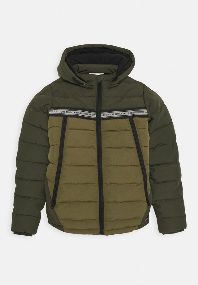 GEORGE - Winterjacke - mid army
