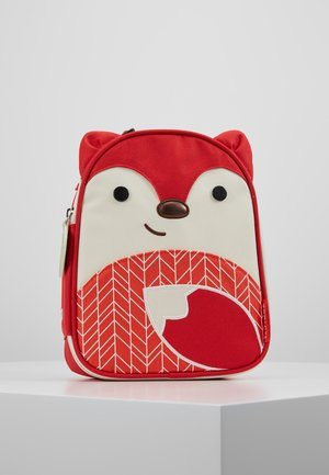 ZOO LUNCHIES FOX - Batoh - red