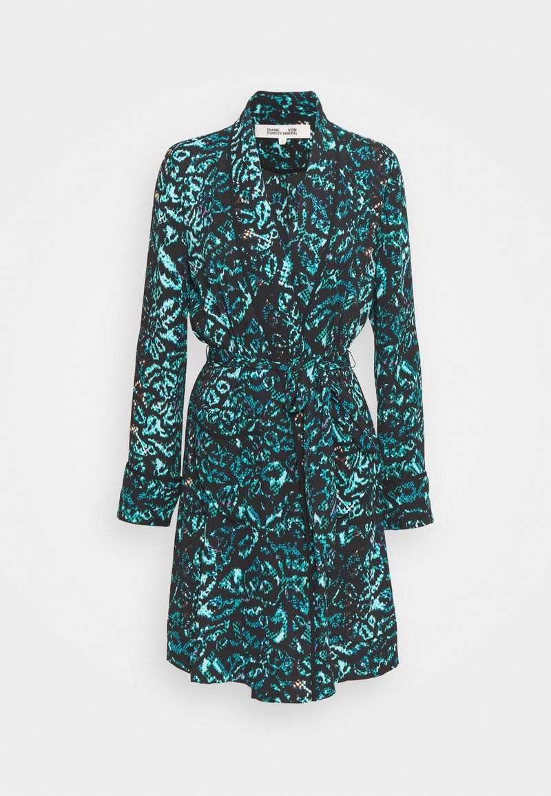 Diane von Furstenberg - VALERIA - Short coat - dark green
