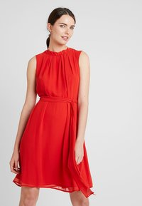 Esprit Collection - NEW FLUID - Cocktailkleid/festliches Kleid - orange red - 0