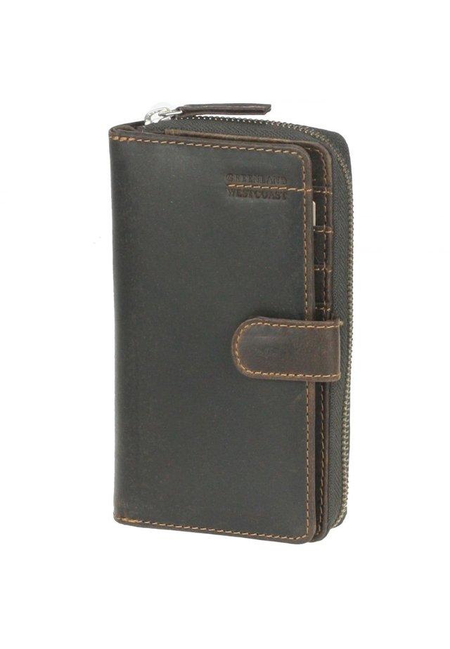 WESTCOAST (17 cm) - Wallet - tobacco
