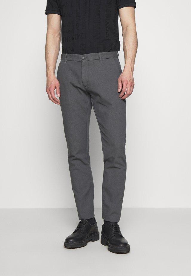 PANTALONI TESSUTO - Pantaloni - lavagna
