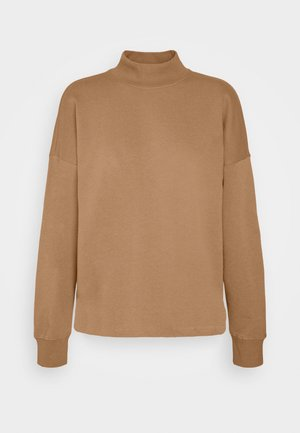 ONLMAGGIE HIGH NECK  - Sweatshirt - burro