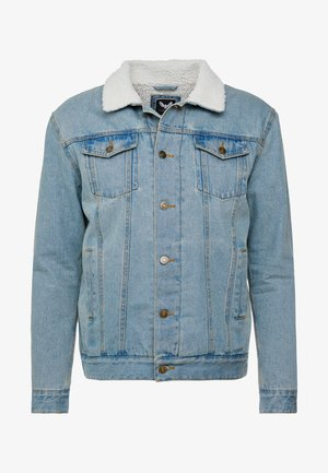 LARSONBORG - Kurtka sportowa - light blue denim/cream
