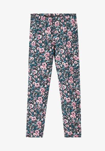 Trousers - st. fiori rosa