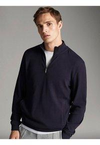 Massimo Dutti - Sweatshirts - dark blue - 3