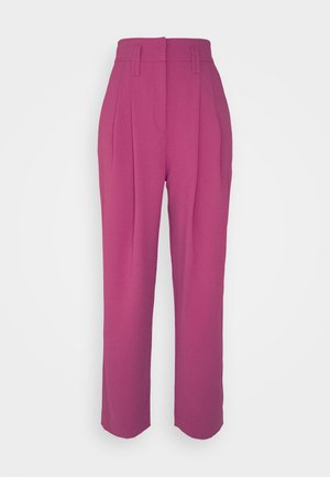 REXO TROUSERS - Trousers - framboise
