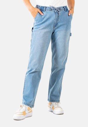 REFLEX WOMEN WORKER - Straight leg jeans - light blue grey wash