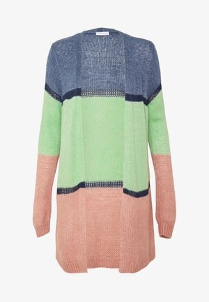 VIPADMA CARDIGAN - Kardigan - china blue/green/rose tan
