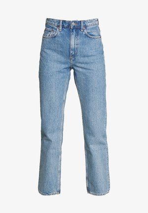 VOYAGE ECHO - Straight leg jeans - pen blue
