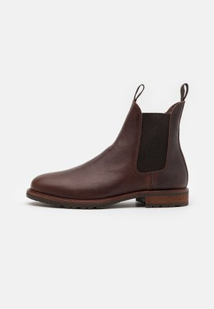 YORK - Classic ankle boots - brown