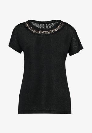 ONLRILEY BLING - Print T-shirt - phantom