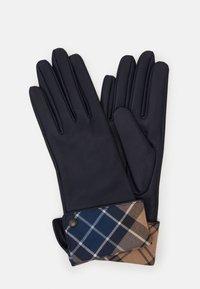 Barbour - LADY JANE GLOVES - Gloves - dark navy/tempest trench - 0