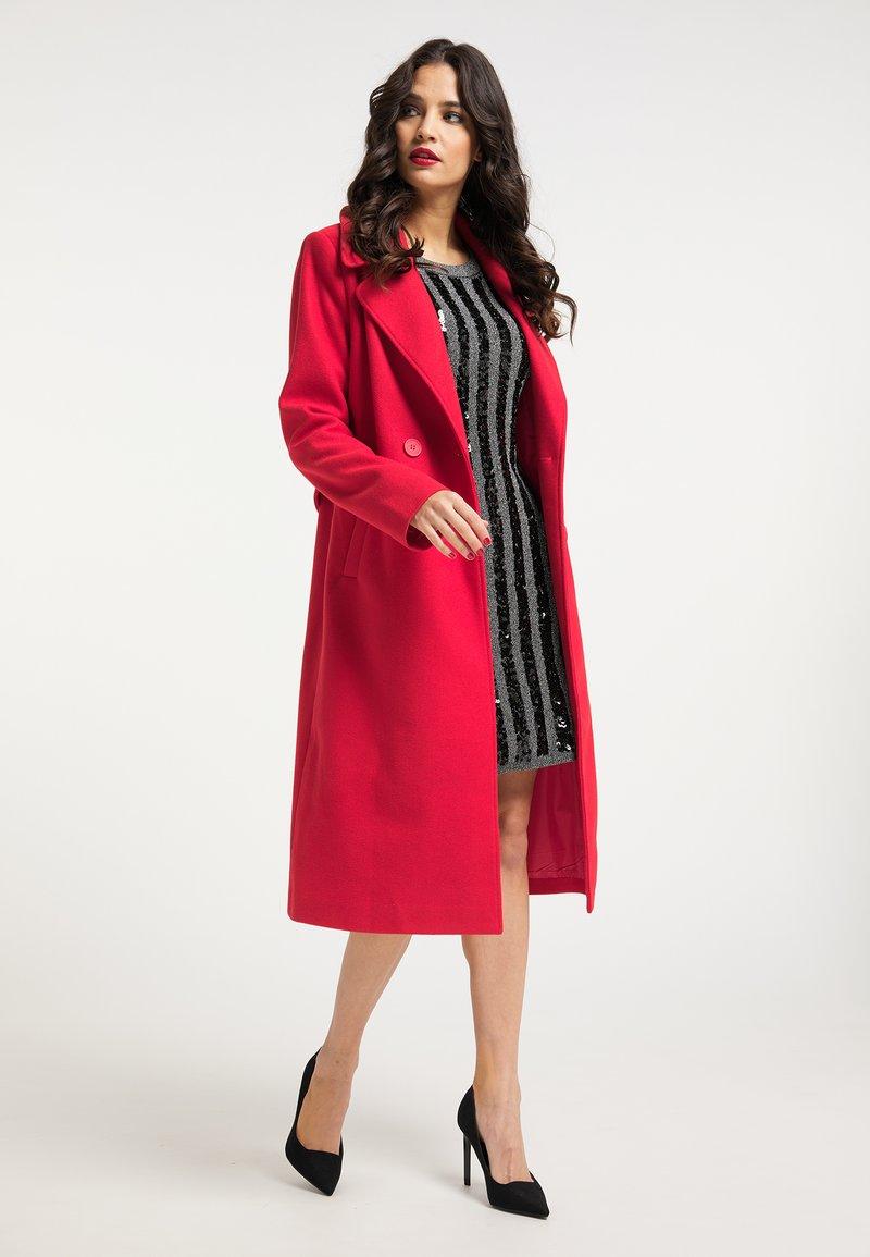 faina - Classic coat - rot