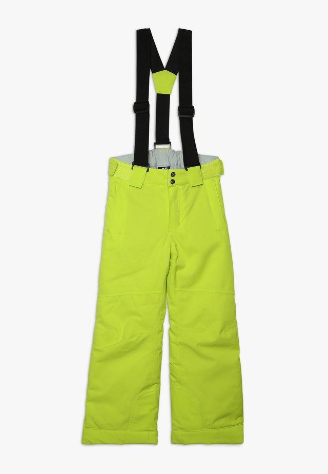 OUTMOVE PANT - Pantalon de ski - citron lime