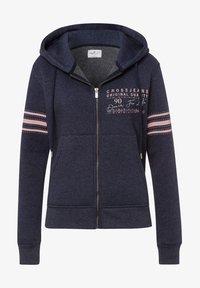 Cross Jeans - Zip-up hoodie - navy-meliert - 5