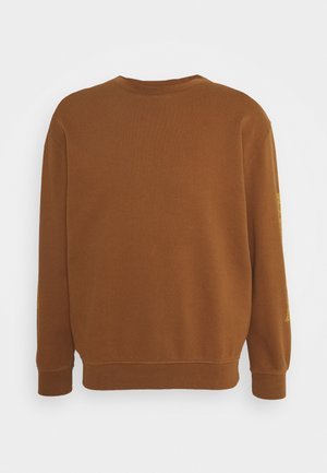 UNISEX OVERGROWN - Sweatshirt - bark brown