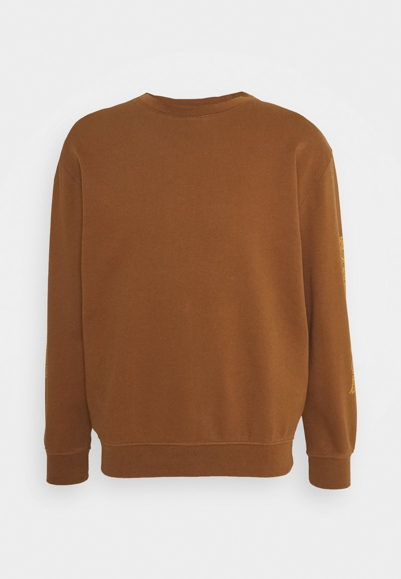 WAWWA - UNISEX OVERGROWN - Sweatshirt - bark brown