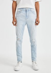 PULL&BEAR - Slim fit jeans - blue - 0