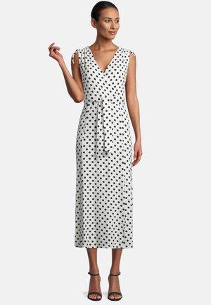 Day dress - weiß/dunkelblau