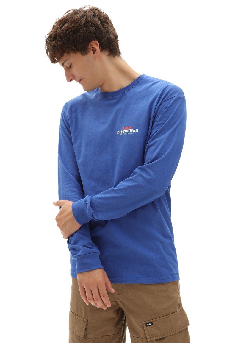 Vans - MN BODEGA BAY LS - Långärmad tröja - deep ultramarine